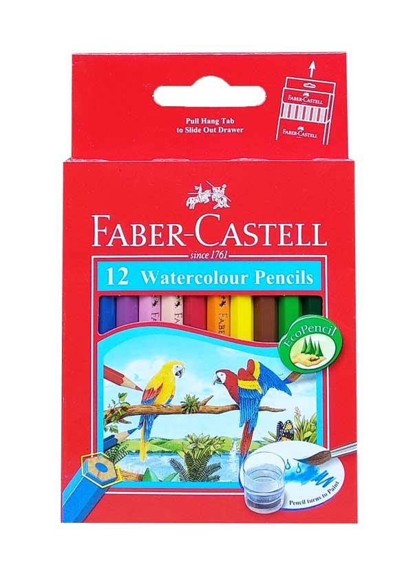 toko mainan online PENSIL WARNA FABER CASTELL 12 PENDEK - 114461