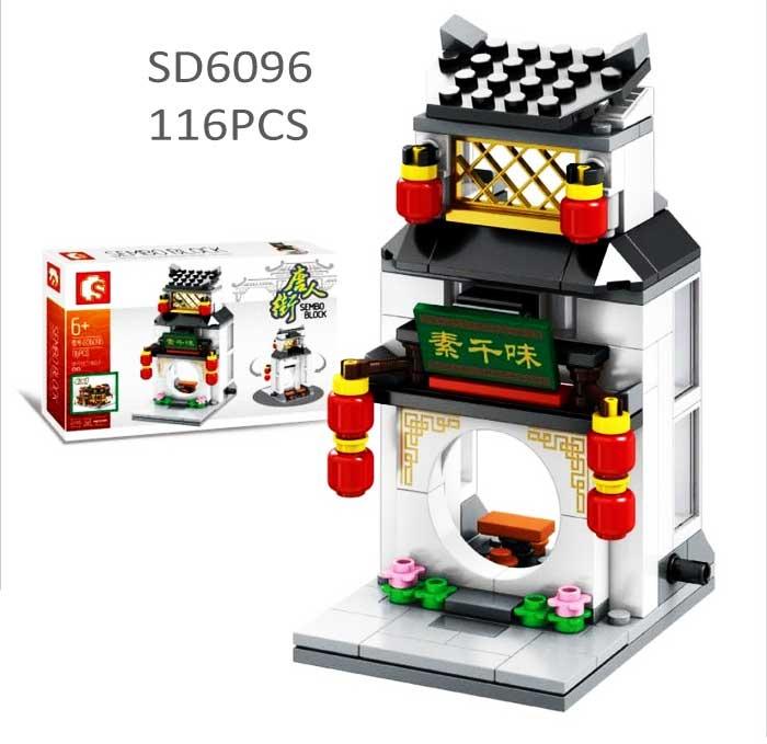 toko mainan online SEMBO CHINA TOWN 116PCS - SD6096