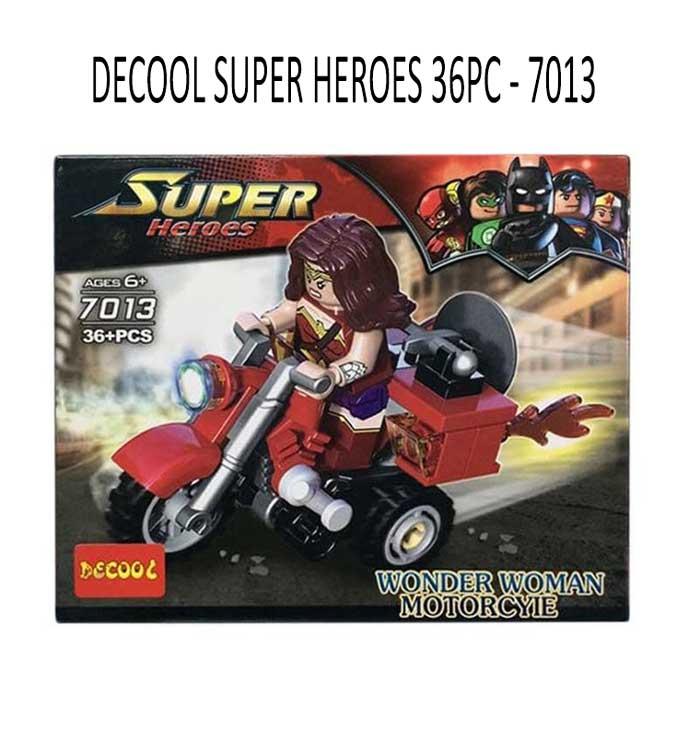 toko mainan online DECOOL SUPER HEROES 36PC - 7013