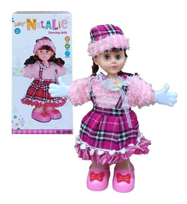 toko mainan online NATALIE DANCING DOLL - 3999B