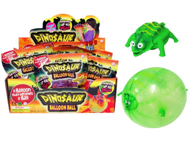 toko mainan online DINOSAUR BALLOON BALL (gr6)