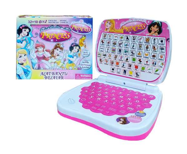 toko mainan online ALAT BANTU BELAJAR 4BHS PRINCESS - 789-1