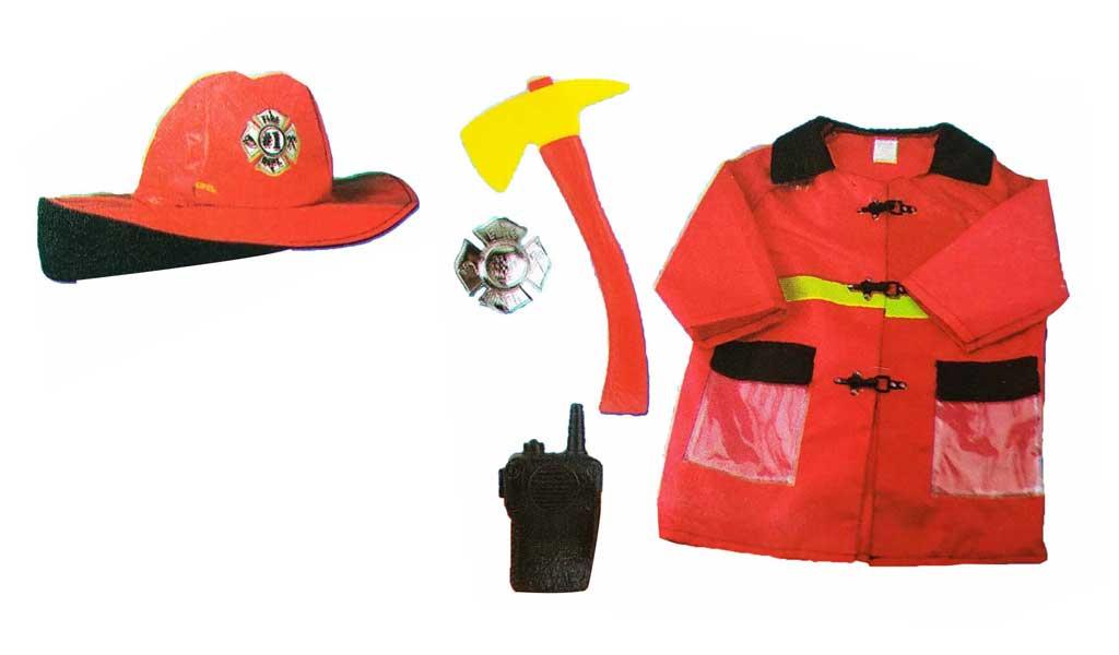toko mainan online LESHENG FIREMAN COSTUME - 0951-6