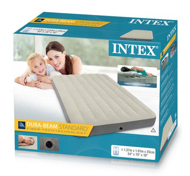 toko mainan online INTEX FULL DELUXE DURABEAM AIR BED - 64708