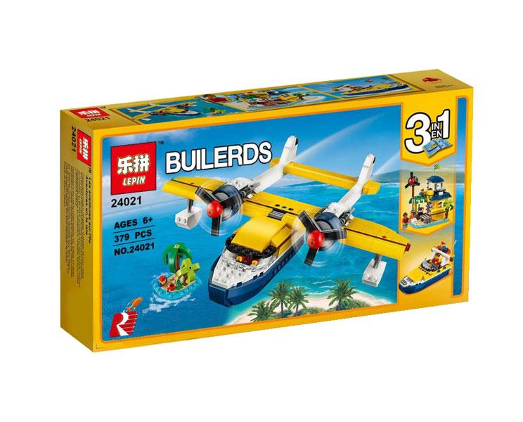 toko mainan online LEPIN BUILDERS 386PCS - 24021