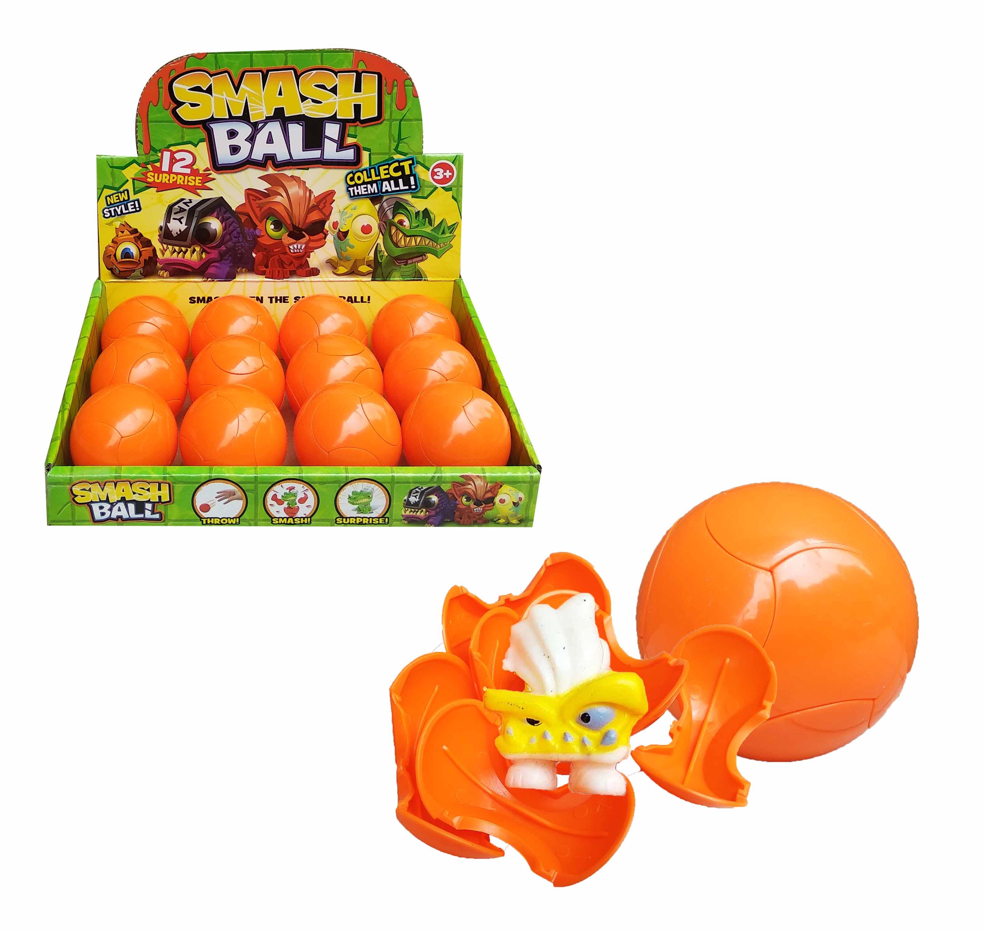 toko mainan online SMASH BALL MONSTER SATUAN (gr12) - 537