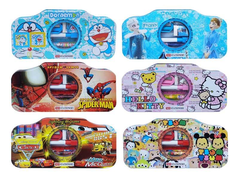 toko mainan online TEMPAT PENSIL KALENG CAMERA+ISI - XD-9560