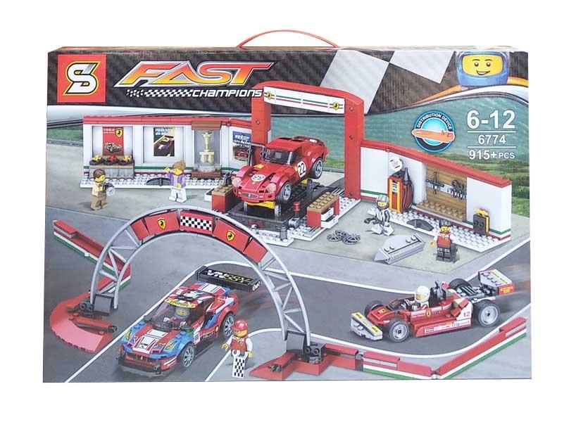 toko mainan online BLOCKS FAST CHAMPION 915PCS - 6774