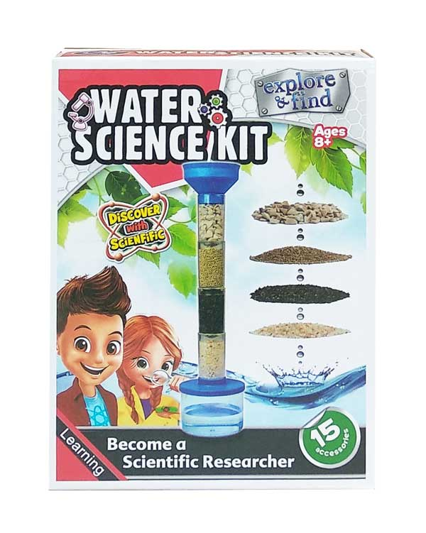 toko mainan online WATER SCIENCE KIT - 1003