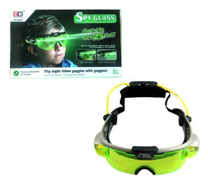 toko mainan online SPY GLASS NIGHT VISION GOGGLES - ZR802