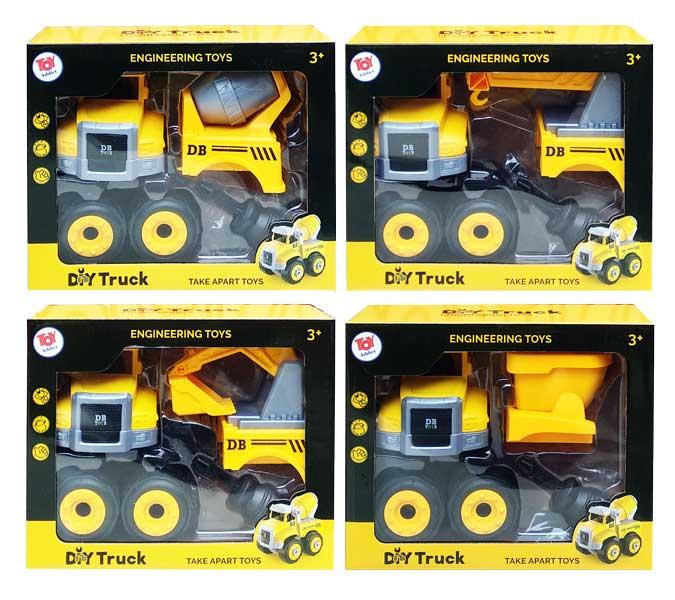 toko mainan online DIY TRUCK VERSI 2 - CPS172198