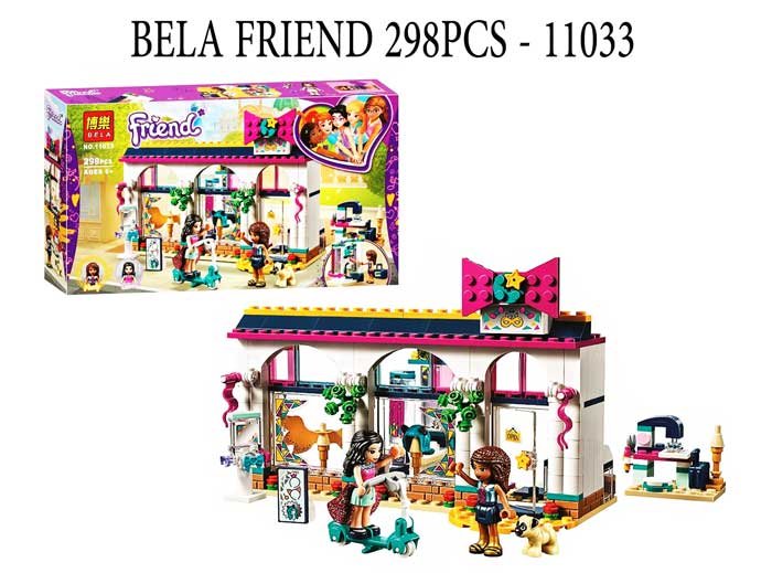 toko mainan online BELA FRIEND 298PCS - 11033