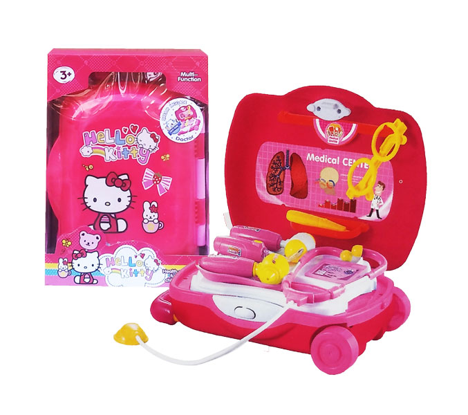 toko mainan online DREAM LUGGAGE DOCTOR KITTY-DN866KT-2