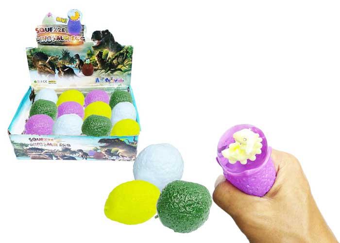 toko mainan online SQUUEZE DINO EGG - FX006