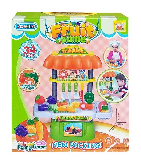 toko mainan online FUNNY FRUIT GAME 34PCS - 36778-107