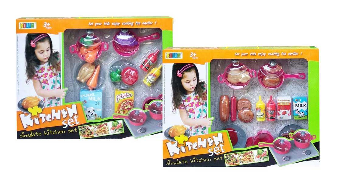 toko mainan online BOWA KITCHEN SET - 8335A/8335B