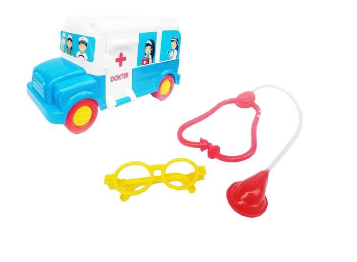 toko mainan online COTTON MOBIL DOKTER - 49061