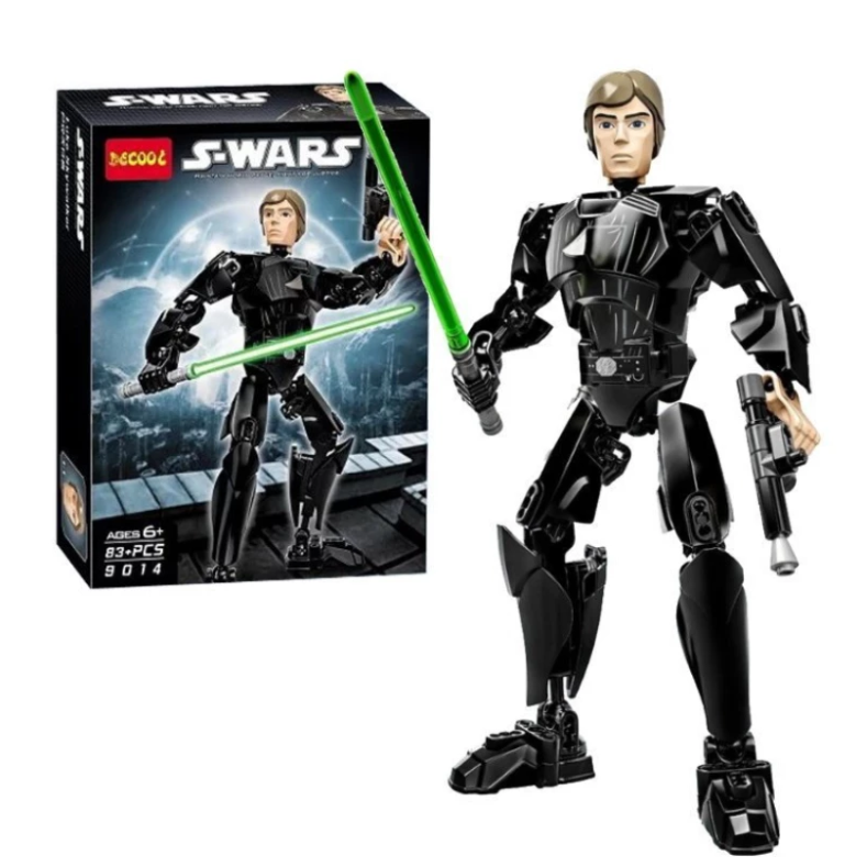 toko mainan online DECOOL STAR WARS (LUKE SKYWALKER) 83PCS - 9014