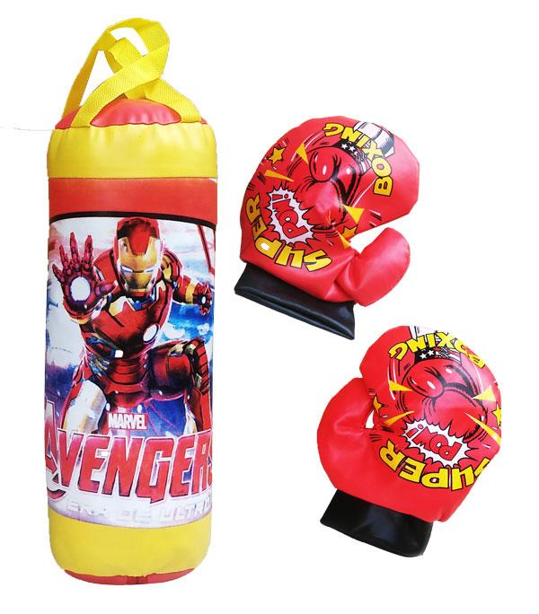 toko mainan online JALA BOXING IRON MAN - 813B15