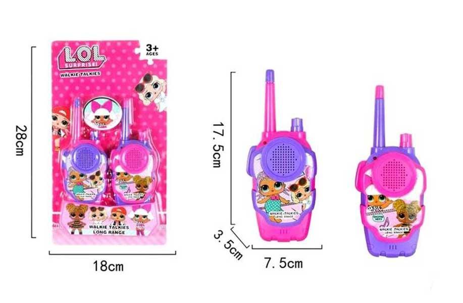 toko mainan online WALKIE TALKIE LOL - 1569-3