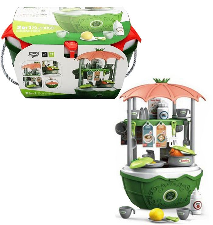 toko mainan online 2IN1 SURPRISE COOKING FOOD - 25725