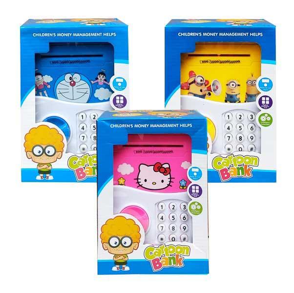 toko mainan online CARTOON BANK TROLLEY HK/DR/MN - 8799