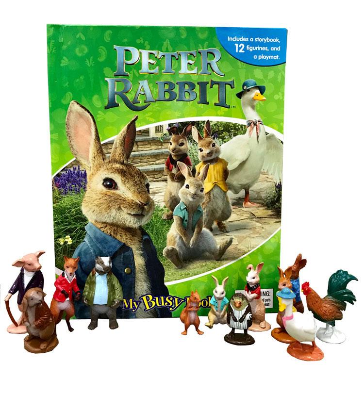 toko mainan online My Busy Book Peter Rabbit