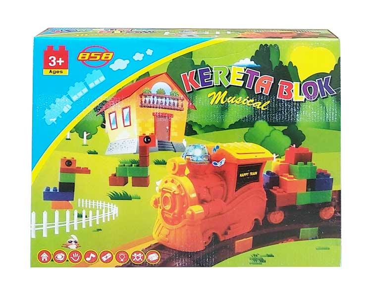 toko mainan online KERETA BLOK - 1635
