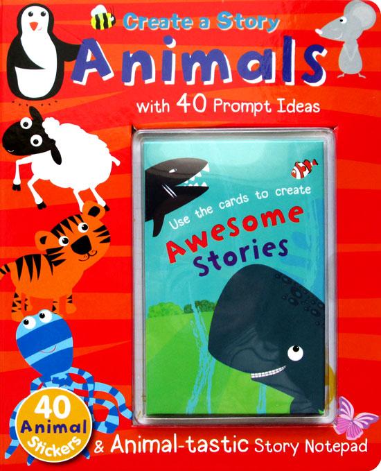 toko mainan online CREATE A STORY ANIMALS - 736270