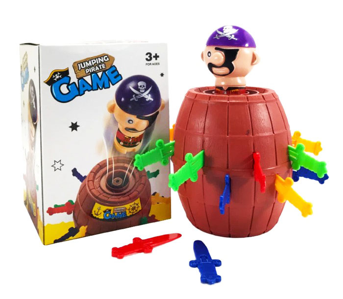 toko mainan online JUMPING PIRATE BARREL - YF555