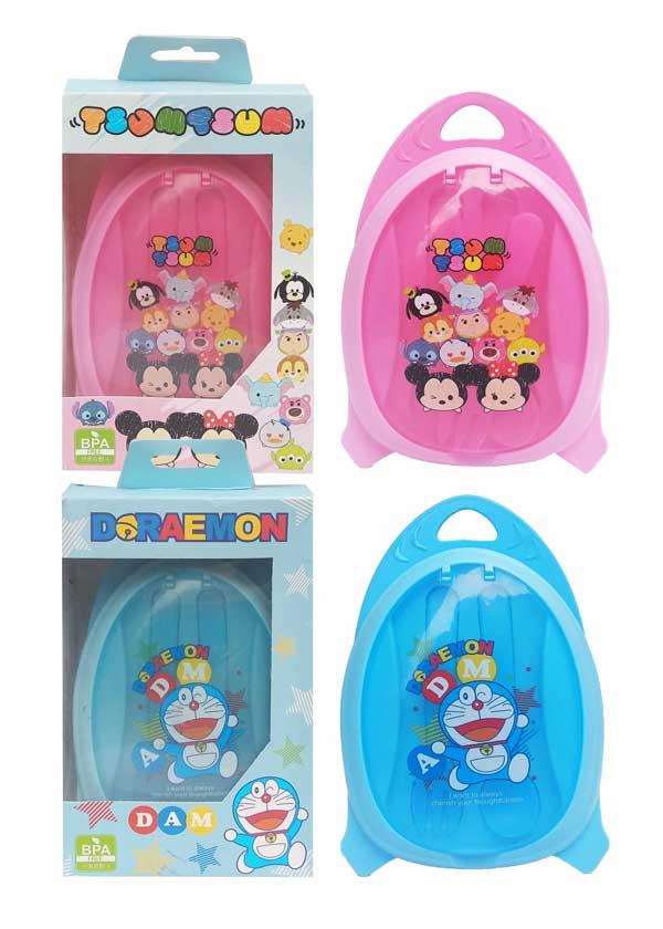 toko mainan online TEMPAT MAKAN BABY DORAEMON/TSUM-TSUM - XY-J503