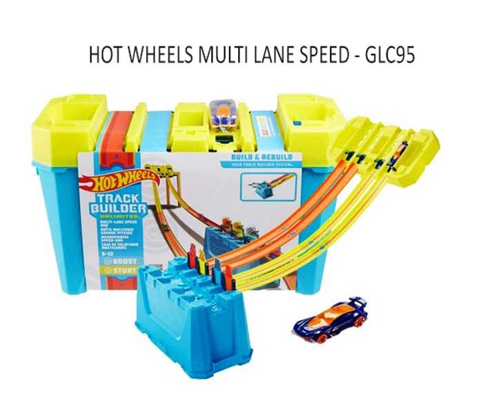 toko mainan online HOT WHEELS MULTI LANE SPEED - GLC95