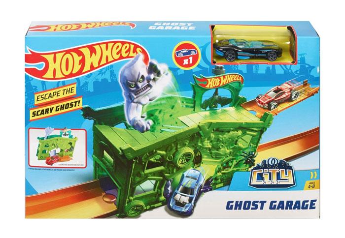 toko mainan online HOT WHEELS GHOST GARAGE - FJN38