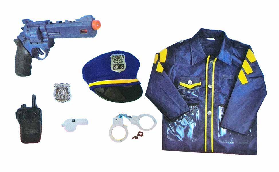 toko mainan online LESHENG POLICE COSTUME - 0952-8