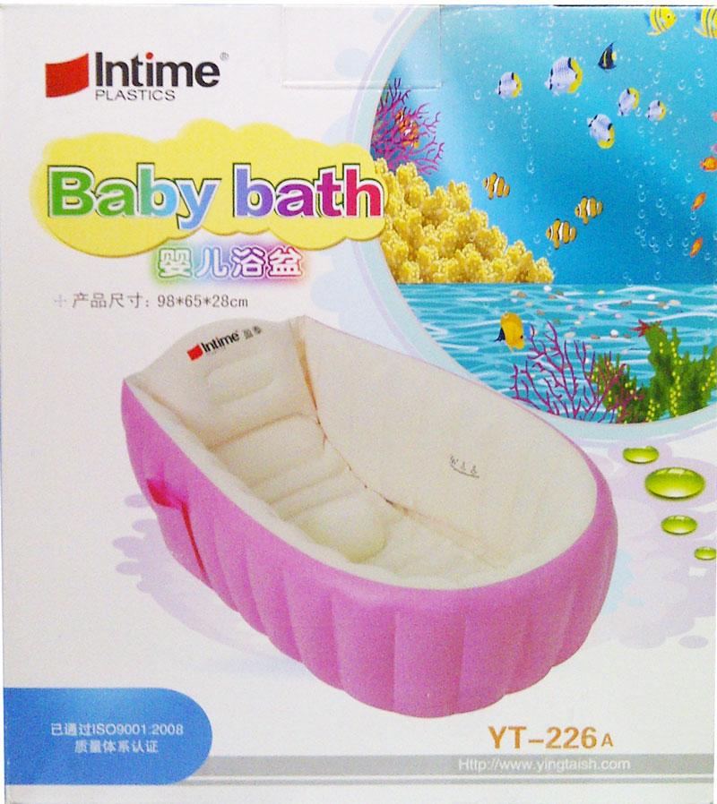 toko mainan online INTIME BATH TUB PINK YT-226A