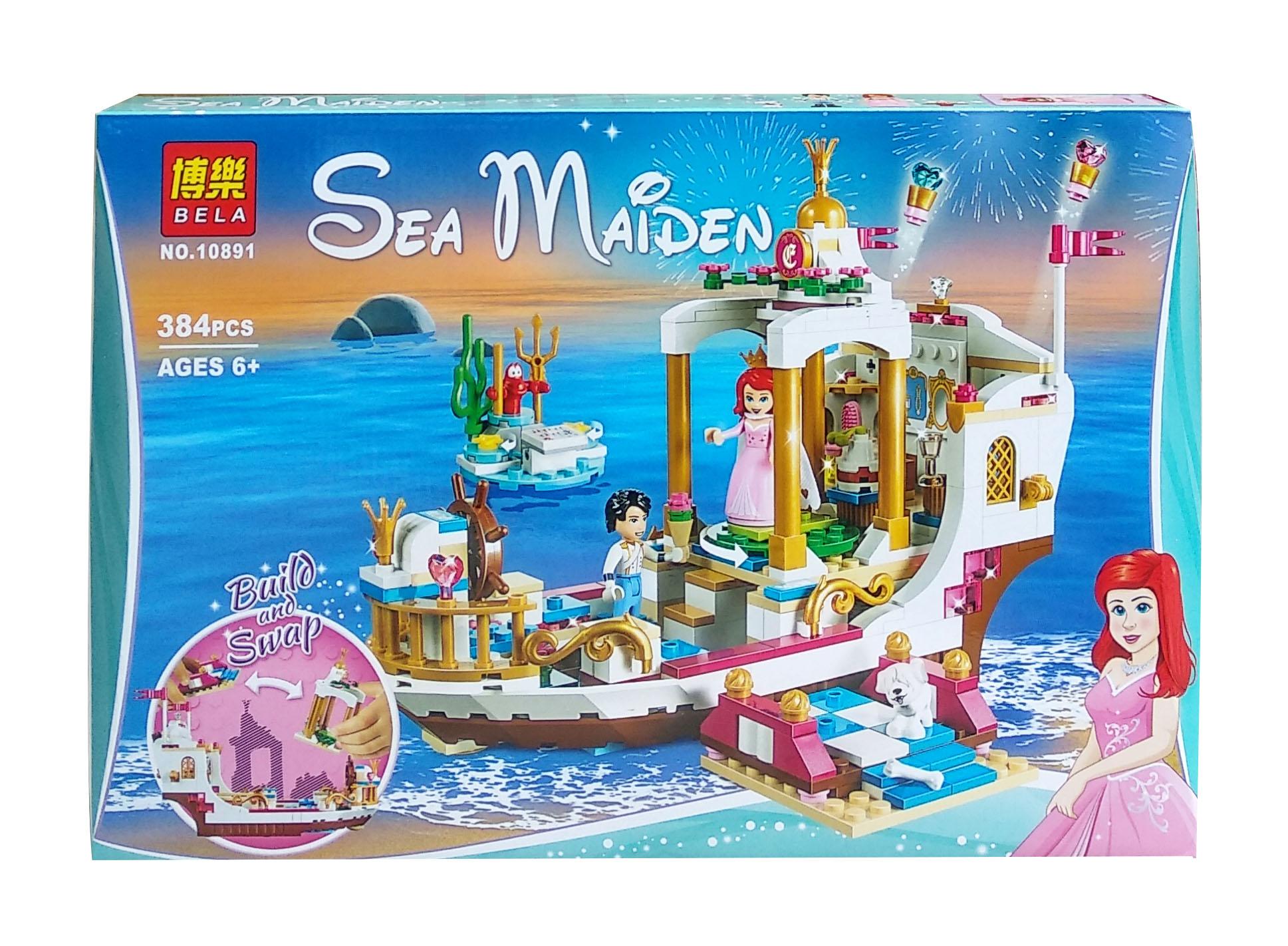 toko mainan online BELA SEA MAIDEN 384PCS - 10891