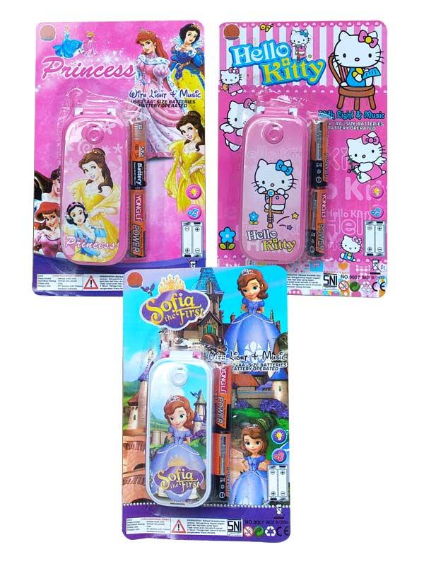 toko mainan online FLIP PHONE HK/PRINCESS/SOFIA - 9007