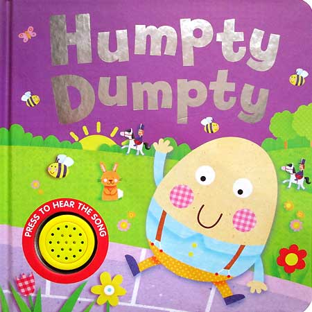 toko mainan online Humpty Dumpty Melody Sound Board Book