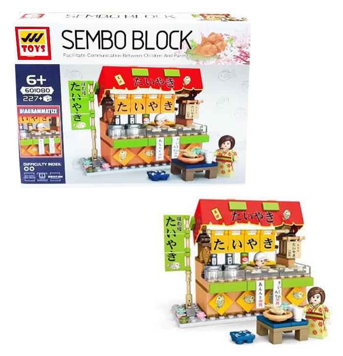 toko mainan online SEMBO BLOCK DIAGRAMMATIZE 227PC - 601080