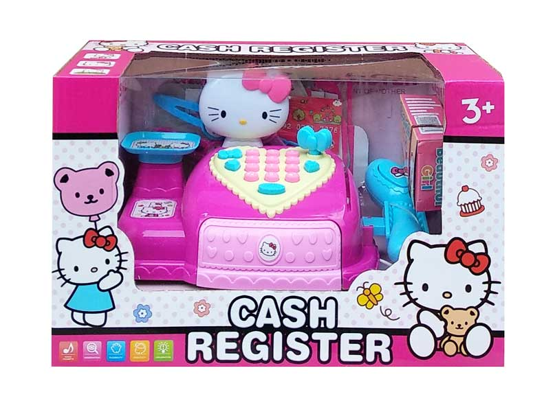 toko mainan online CASH REGISTER KITTY - DN2026-KT