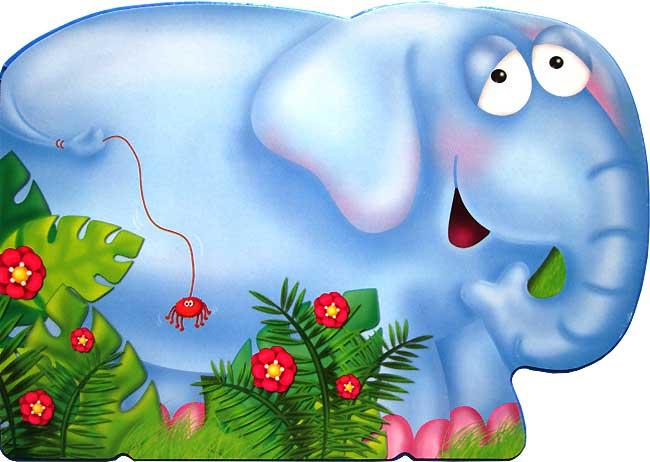 toko mainan online ELEPHANT My Chunky Friend Animal Board