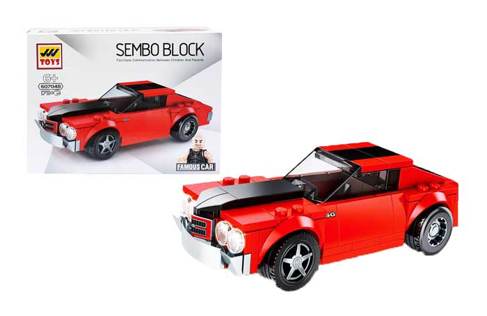 toko mainan online SEMBO CAR 175PCS - SD607048