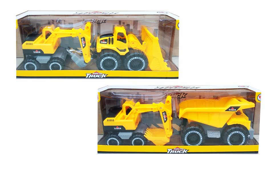 toko mainan online 2 IN 1 BUILD THE TRUCK - CPS172792
