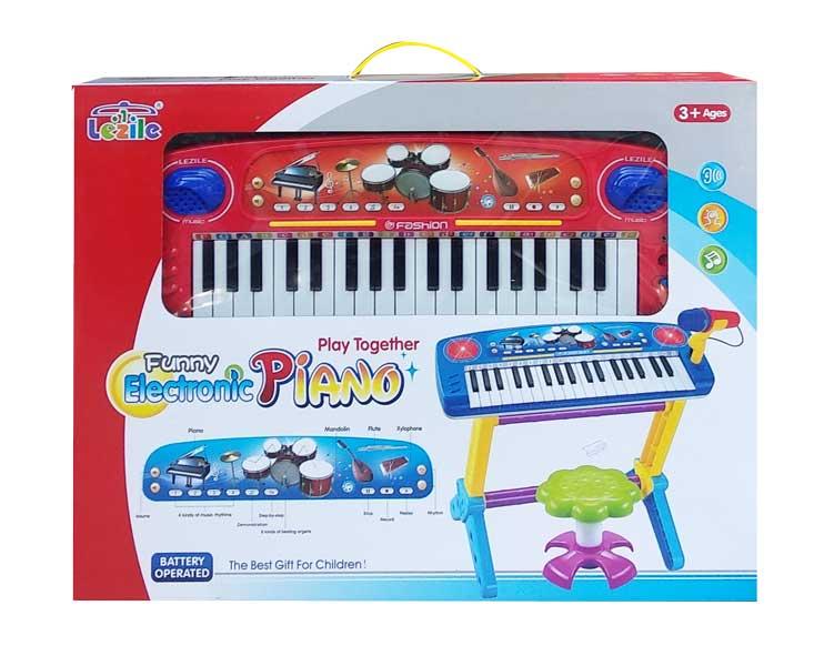 toko mainan online FUNNY ELECTRONIC PIANO+KURSI - 3705