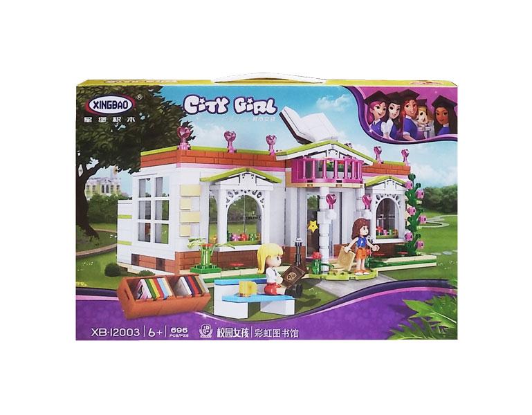 toko mainan online CITY GIRL 696PCS - 12003