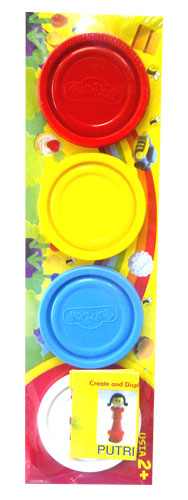 toko mainan online DOUGH WARNA 4PC - 28003 (gr6)