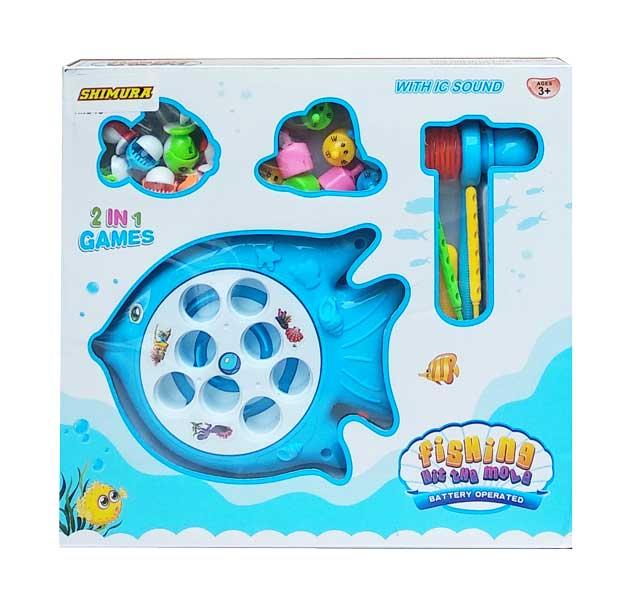 toko mainan online FISHING HIT THE MOLE - 708