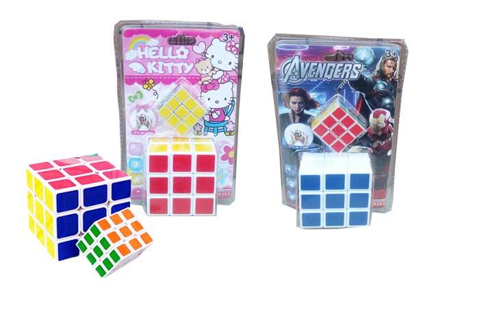 toko mainan online MAGIC CUBE RUBIK 3X3 - 123B