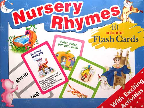 toko mainan online FLASH CARD RHYMES