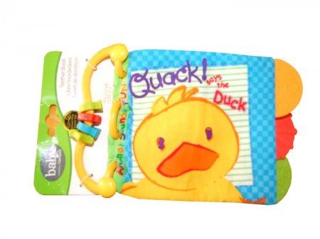 toko mainan online teether book carter Quacky Duck (gr4mx)
